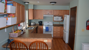 The FCC kitchen after the remodel.