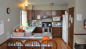 The FCC kitchen prior to remodeling.