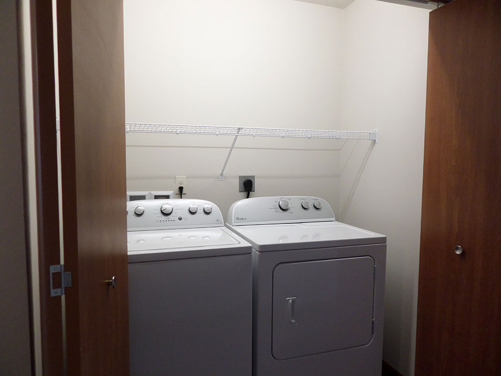 Brillion Townhomes Laundry
