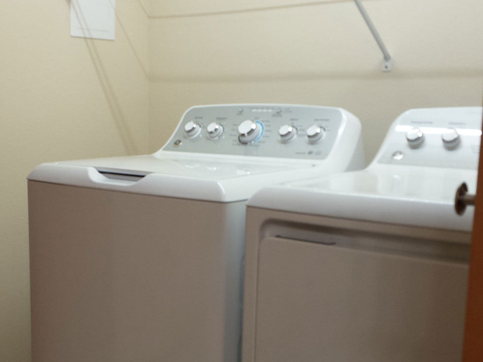 Colby Cottages Laundry Room