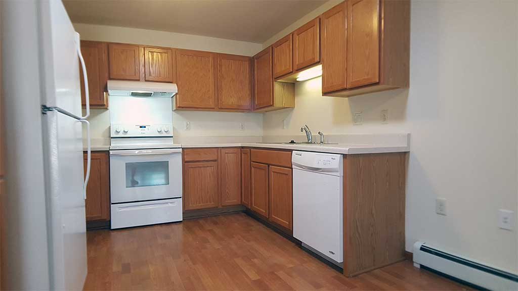 River Wood kitchen wide