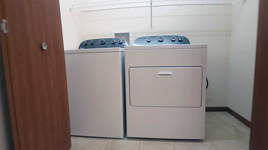 River Wood laundry