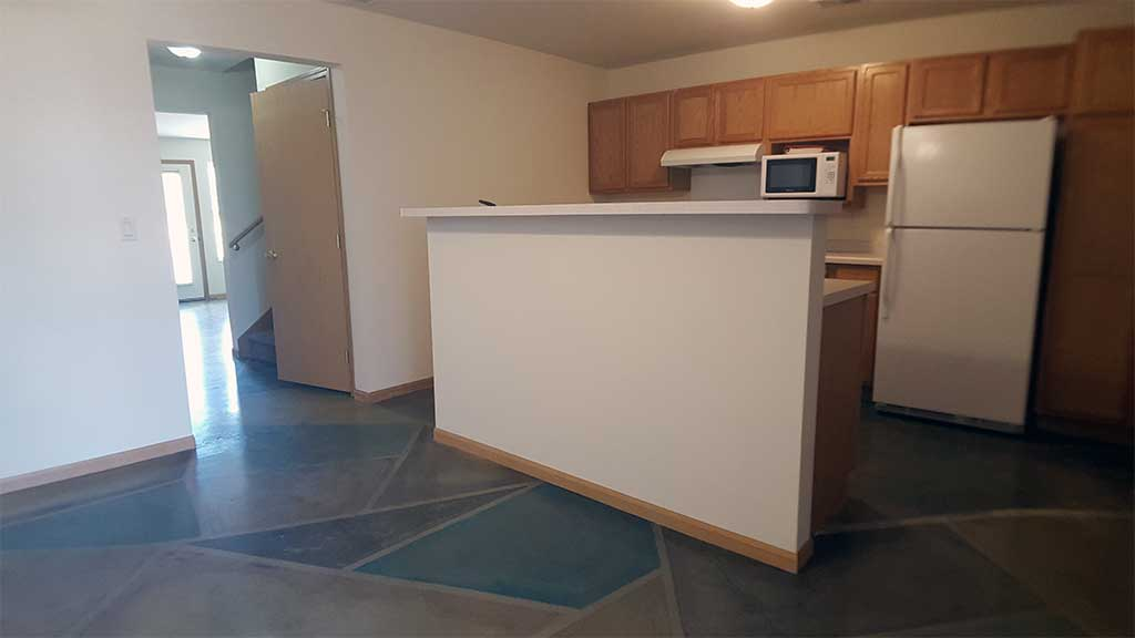 Waupaca Townhomes kitchen wide