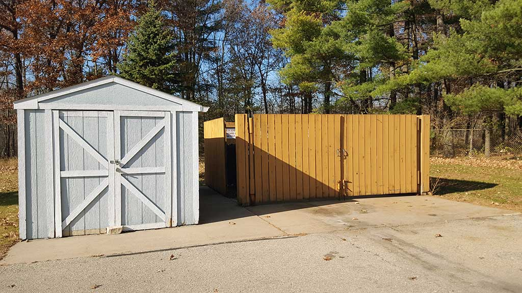 Wolf River SV dumpsters