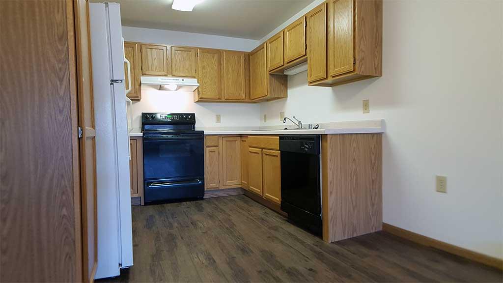 Wolf River SV kitchen wide back building