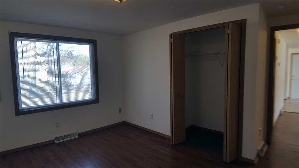 Westfield bedroom 1 view into hall 2 bedroom side