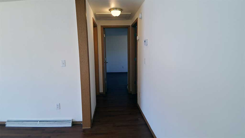 Westfield main hallway 2 bedroom side