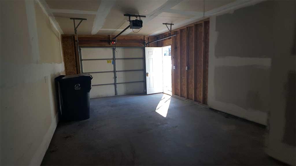 Westfield garage inside 3 bedroom side