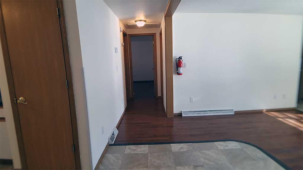 Westfield main hallway 3 bedroom side