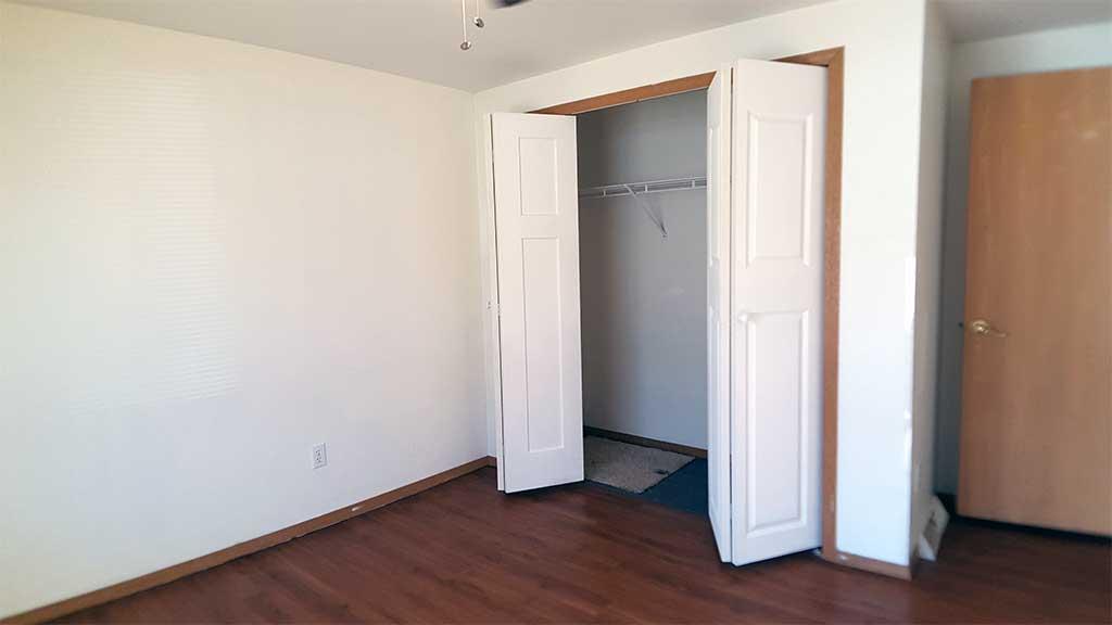 Westfield bedroom 1 closet 3 bedroom side