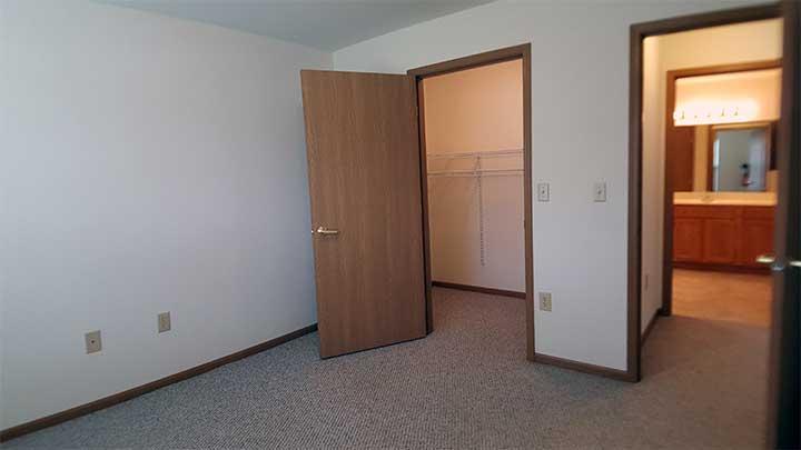 River City SV Front bedroom closet