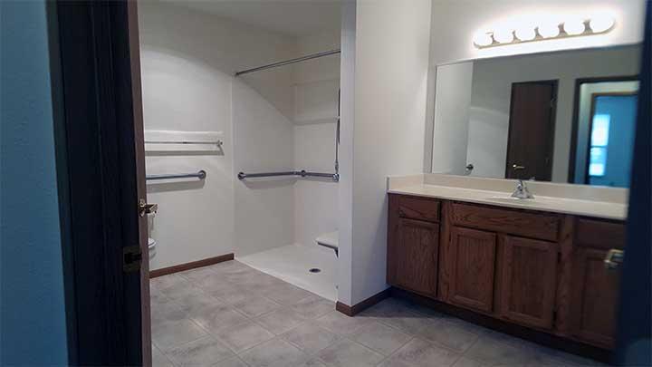 River City SV Full bathroom