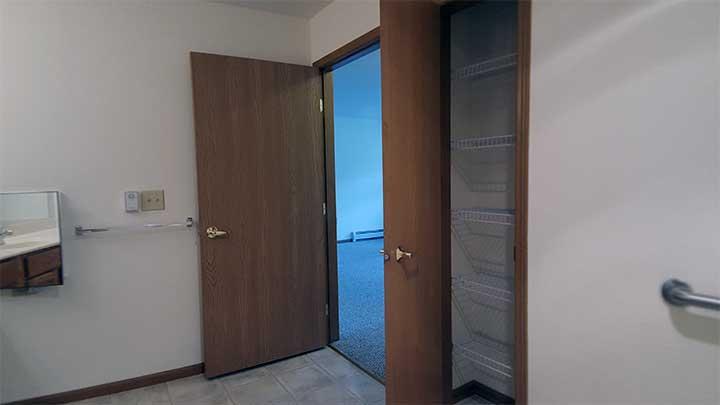 River City SV Linen closet