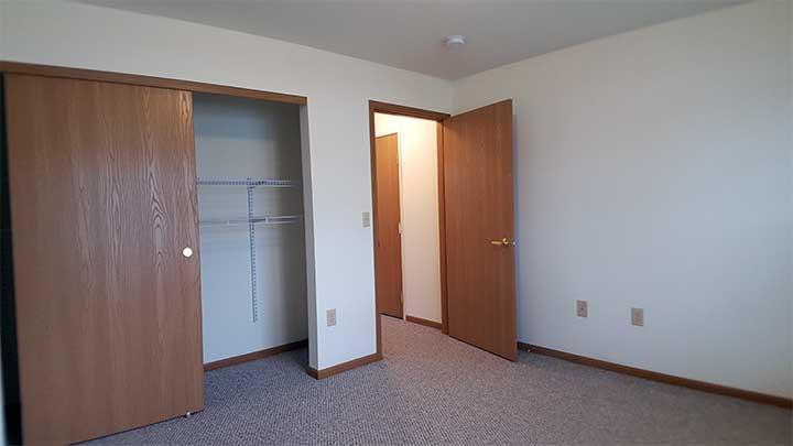 River City SV Back bedroom closet
