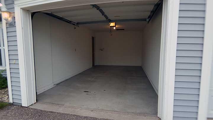 River City SV Garage looking in